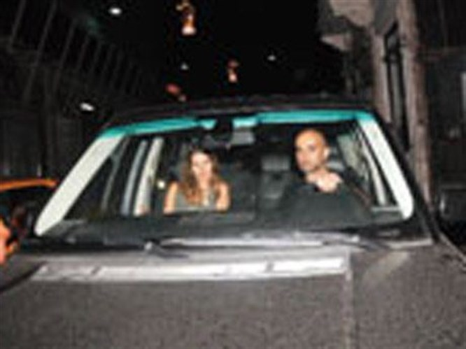 Eren Talu o kadınla yine yakalandı!